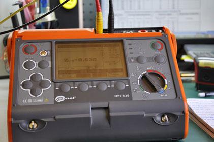 многофункциональный измеритель MPI-525